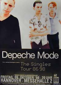 Depeche Mode / Poster Singles Tour 86>98 POSTER 116120