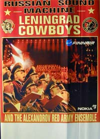 Leningrad Cowboys Red Army Ensemble Tour POSTER 120594