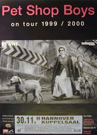 Pet Shop Boys On Tour 1999/2000 POSTER 122943