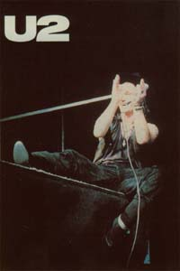 U2 Bono (clapping hands) CARD 123885