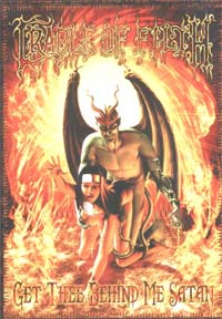 Cradle Of Filth Behind Me Satan CARD 144026