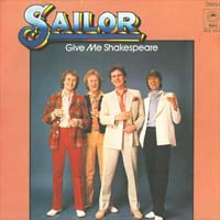 Sailor Give Me Shakespeare 7'' 565155
