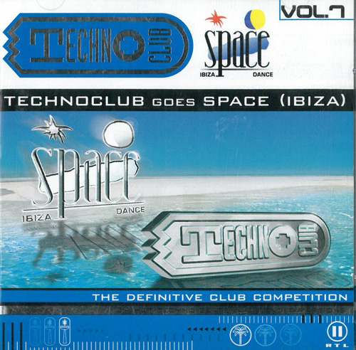 Various Artists / Sampler Techno Club Vol. 7 - Goes Space (Ibiza) 2CD 568995