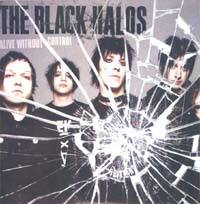 Black Halos Alive Without Control - Promo CD 571874