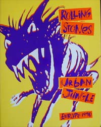 Rolling Stones Urban Jungle - 1990 BOOK 576204