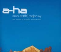 A-HA Minor Earth, Major Sky MCD 581416