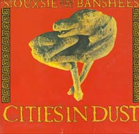 Siouxsie & The Banshees Cities In Dust - Postercover 7'' 591323